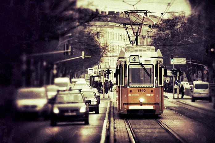 Samochód w dużym mieście